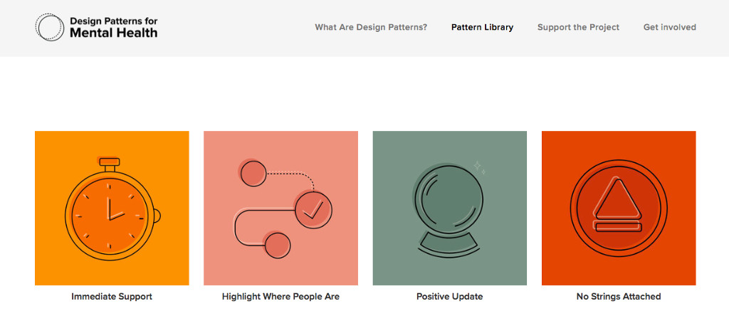 Portada de Design Patterns for Mental Health